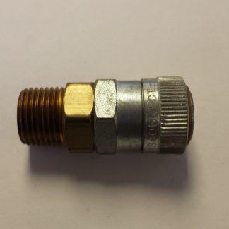 FRL Series Socket Male Pipe Thread Interchange Hansen 2RL & 3RL