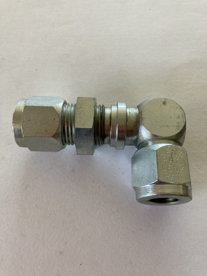 Lenz Bulkhead Union Elbow O-Ring Seal Tube Fitting