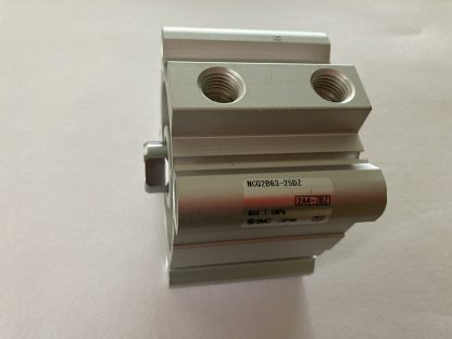 SMC Compact Cylinder 63MM Bore x 25MM Stroke Through Hole Mount