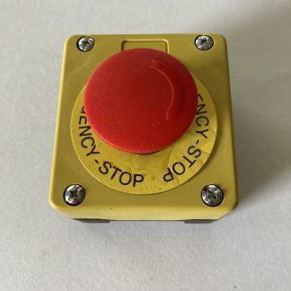 EE CONTROLS E-STOP STATION MAINTAINED TWIST TO RELEASE OPERATOR 1 N/C CONTACT