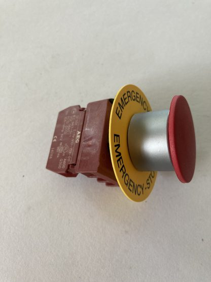 E-STOP BUTTON 22MM PUSH/PULL 1 N/C CONTACT