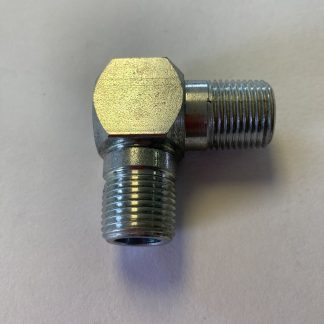 Lenz Male Pipe Elbow Steel Hydraulic NPT Fitting