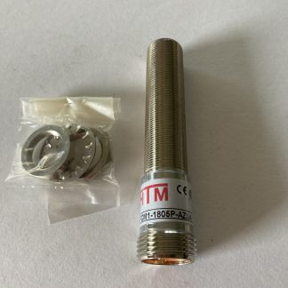 HTM Proximity Sensor M18 5m Range PNP N/O Output 4 Pin Mini Connector