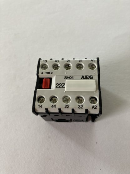 AEG RELAY POSITIVE GUIDED 2 N/O 2 N/C COIL VOLTAGE 24VDC