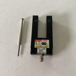 HTM 15MM Fork Sensor PNP Output 4 Pin M8 Connector 10-30 VDC